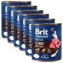 Konzerva Brit premium by Nature Beef & Tripe 6 x 800 g