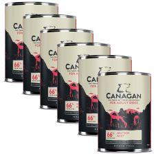 Konzerva CANAGAN British Beef, 6 x 395 g