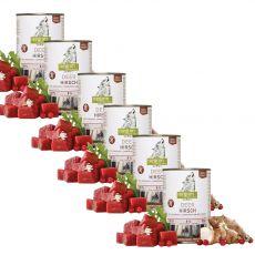 ISEGRIM Adult Forest: Jeleň s topinamburmi, brusnicami a bylinkami 6 x 400 g