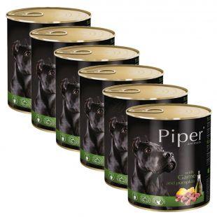 Konzerva Piper Adult s divinou a tekvicou 6 x 800 g