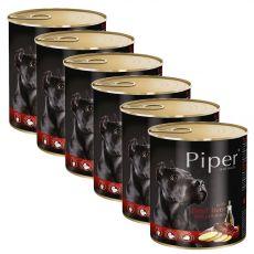 Konzerva Piper Adult s hovädzou pečeňou a zemiakmi 6 x 800 g