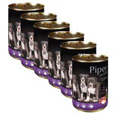 Konzerva Piper Junior teľacie mäso a jablko 6 x 400 g