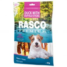 Rasco Premium Dry Snack Duck With Buffalo Sticks 80 g