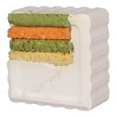 Vitamínový blok pre zajace a morča - kukurica, 80g