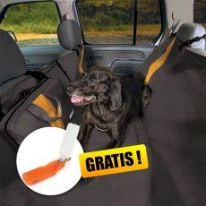 Ochranný poťah na zadné sedadlá Kurgo Wander Hammock - typ hamaka čierny