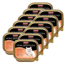 Animonda Vom Feinsten Castrated Cats - morka + losos 12 x 100g
