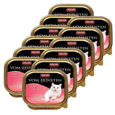 Animonda Vom Feinsten Adult Cats - s morčacími srdciami 12 x 100g