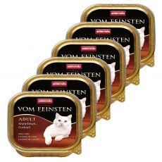 Animonda Vom Feinsten Adult Cats - kuracia pečeň 6 x 100 g
