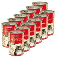 Animonda Cat BROCCONIS hovädzie a hydina 12 x 400 g