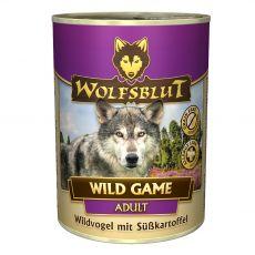 Konzerva WOLFSBLUT Wild Game 400 g