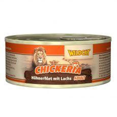 Wildcat Chickeria Chicken & Salmon konzerva 90 g