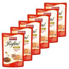 Animonda Rafiné Cat morka, teľacie a syr 6 x 100 g