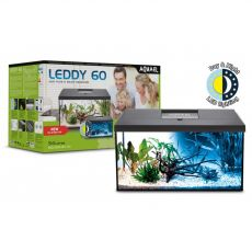 Akváriový set Aquael LEDDY 60 čierny 54 L