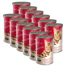 Konzerva BEWI CAT Meatinis HYDINA 12 x 400 g
