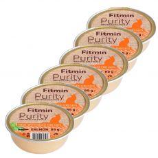 Fitmin Cat Purity lososová vanička 6 x 85 g
