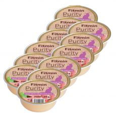 Fitmin Cat Purity bravčová vanička 12 x 85 g