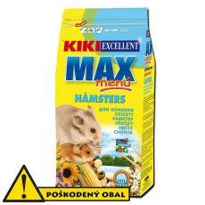 KIKI EXCELLENT MAX MENU - krmivo pre škrečky, 1kg - POŠKODENÝ OBAL