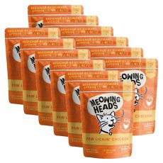 MEOWING HEADS Paw Lickin Chicken GRAIN FREE 12 x 100 g