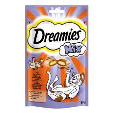 Dreamies Mix pochúťky kura a kačka 60 g