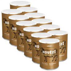 LOUIE Hovädzie a bravčové s ryžou 12 x 1200 g