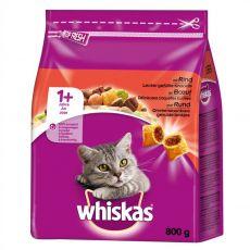 Whiskas hovädzie 800 g