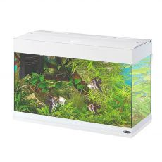 Akvárium Ferplast DUBAI 80 LED BIELE 125 L