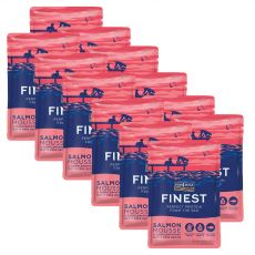 FISH4DOGS Finest Salmon Mousse 12 x 100 g