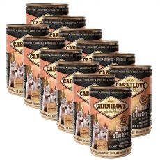 BRIT Carnilove Wild Meat Salmon & Turkey for Puppies 12 x 400g
