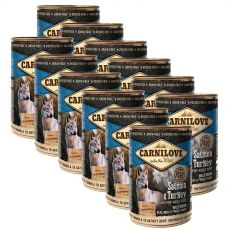 BRIT Carnilove Wild Meat Salmon & Turkey 12 x 400g