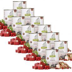 ISEGRIM Adult Forest: Jeleň s topinamburmi, brusnicami a bylinkami 12 x 800 g