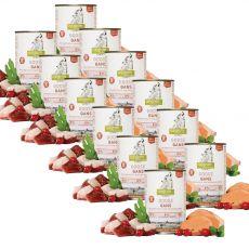 ISEGRIM Adult Prairie: Hus s batátmi, šípkami a bylinkami 12 x 400 g