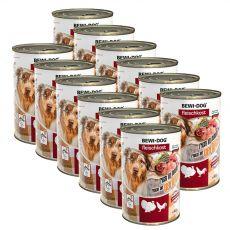 New BEWI DOG konzerva – Hydina, 12 x 400g