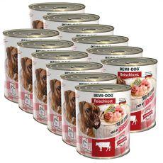 New BEWI DOG konzerva – Hovädzie držky, 12 x 800g