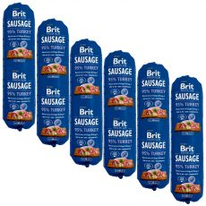BRIT Sausage Turkey 6 x 800 g