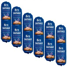 BRIT Sausage Chicken & Rabbit 6 x 800 g