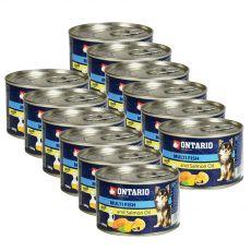 Konzerva ONTARIO Multi Fish a lososový olej – 12 x 200g