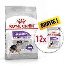 ROYAL CANIN Medium Sterilised granuly pre kastrované stredné psy 10 kg