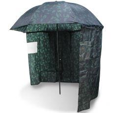 NGT Dáždnik s bočnicou kamuflážny 2,20m