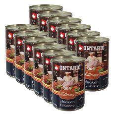 Konzerva ONTARIO Culinary Chicken Fricasse 12 x 400 g