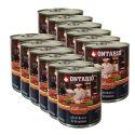 Konzerva ONTARIO Culinary Chicken Fricasse 12 x 800 g