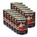 Konzerva ONTARIO Culinary Beef Goulash 12 x 800 g