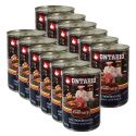 Konzerva ONTARIO Culinary Minestrone Chicken and Lamb 12 x 400 g