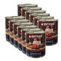 Konzerva ONTARIO Culinary Minestrone Chicken and Lamb 12 x 800 g