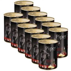 Konzerva Piper Adult s hovädzou pečeňou a zemiakmi 12 x 400 g