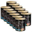 Konzerva Piper Adult s jahňacinou, mrkvou a hnedou ryžou 12 x 800 g