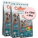 CALIBRA Dog Premium Line SENIOR & LIGHT 2 x 12kg + 6kg GRATIS
