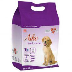 AIKO Soft Care podložky pre psov 30 ks - 60 x 58 cm