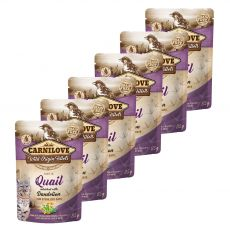 Carnilove Sterilized Cat Quail with Dandelion 6 x 85 g