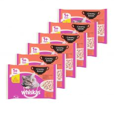 Whiskas Creamy Soups Klasický výber 6 x (4 x 85 g)