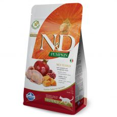 Farmina N&D cat GF PUMPKIN Neutered Quail 5 kg